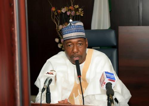 Executive Governor, Prof. Babagana Zulum