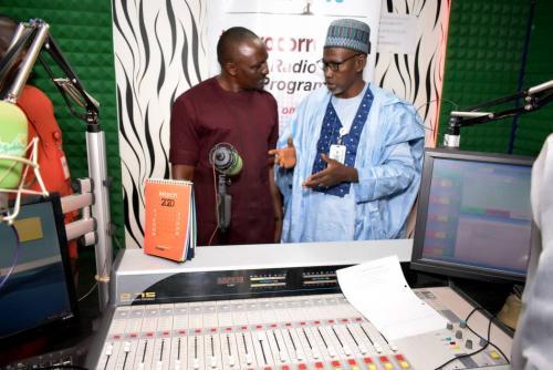 Wazobia FM Visit